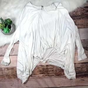 Free People Over Sized Blouse